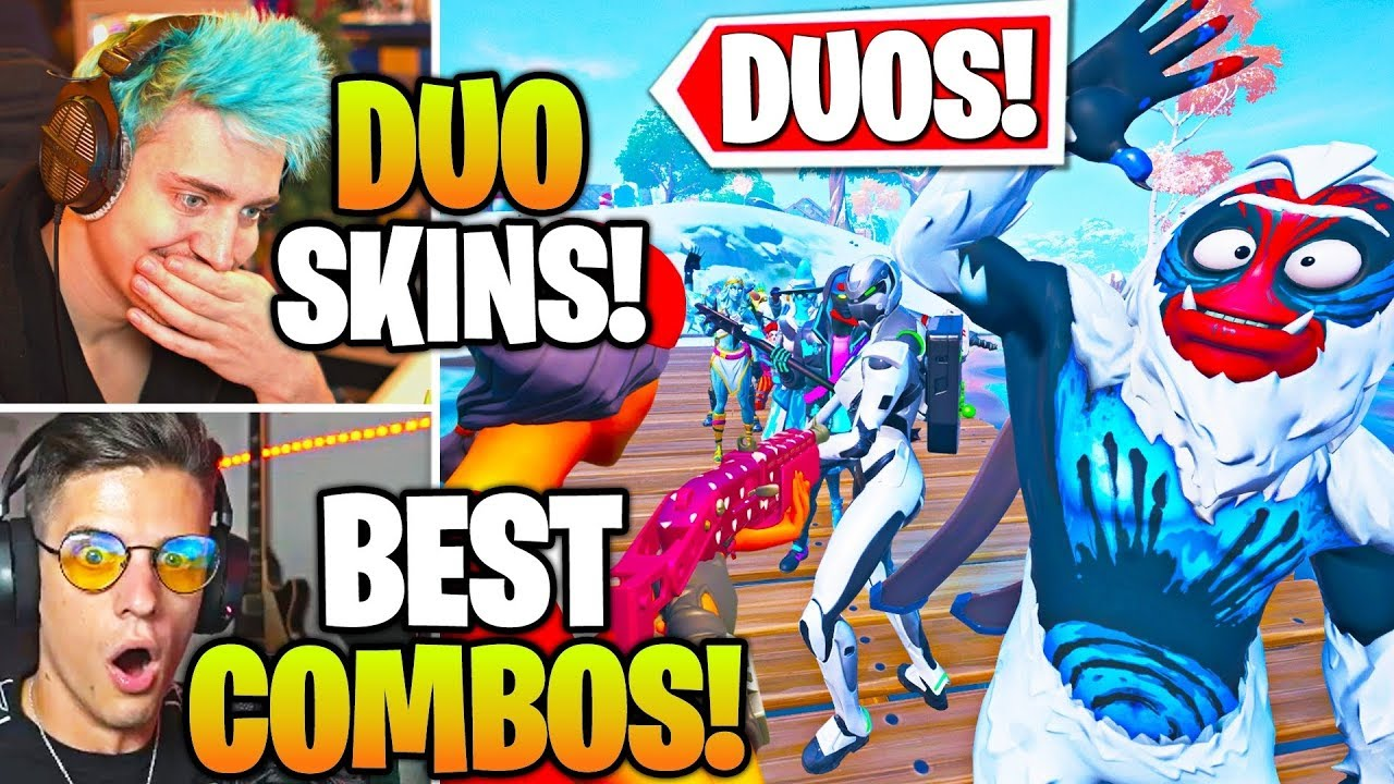 Streamers Host FUNNIEST Duo SKIN & EMOTE Contest ...