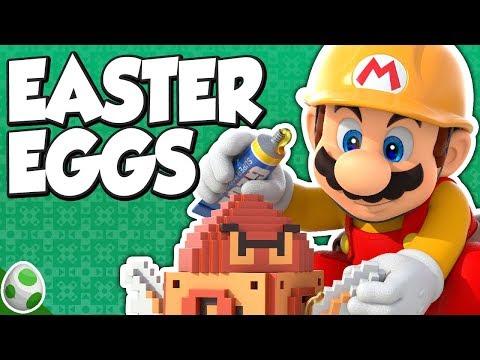 Easter Eggs in Super Mario Maker - SMM Easter Eggs – Easter Eggs With DPadGamer