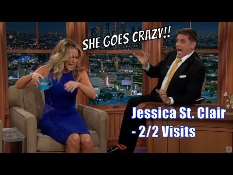 Jessica St. Clair  Ferguson Breaks Up With Her And Then...  22 Visits In Chron. Order 7201080