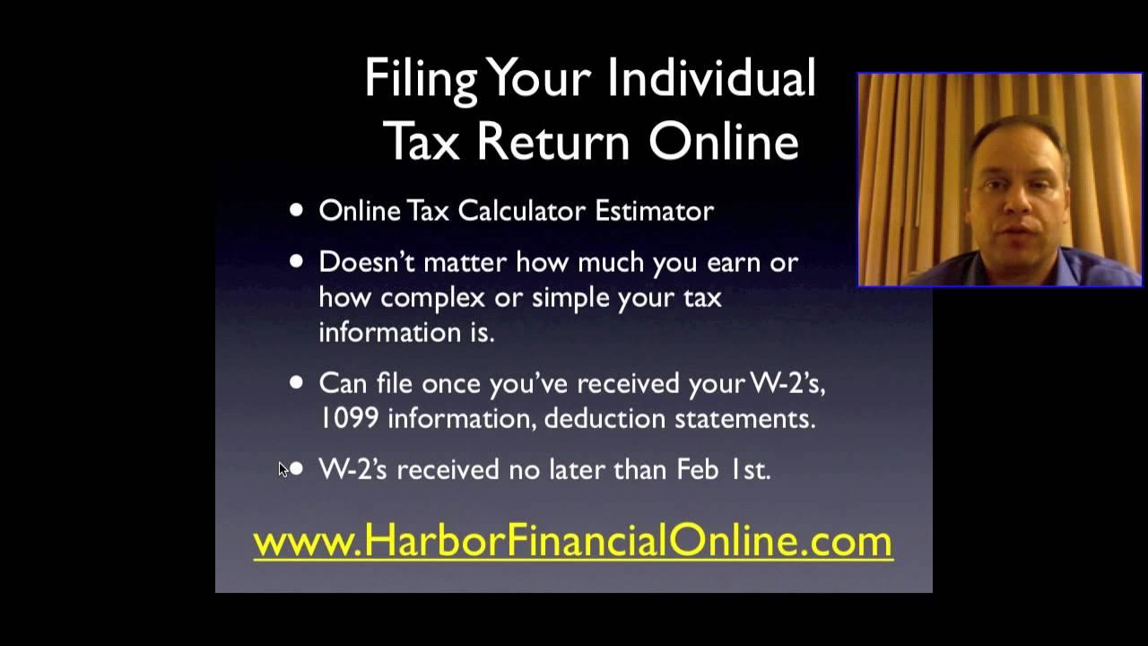 Use the 2018 return calculator to estimate your 2019 refund.