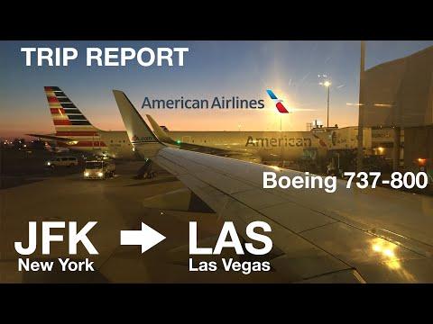 American Airlines (AA211) I JFK-LAS I Economy I B737-800 I Trip Report
