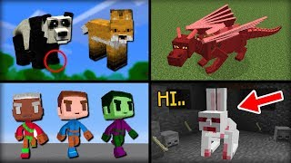 ✔ Minecraft: 10 Mobs That Were Removed