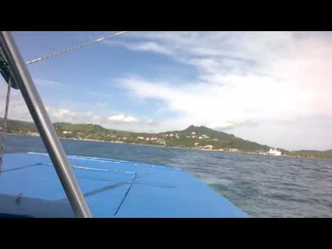 Parasailing in Dominican Republic (800ft in the air
