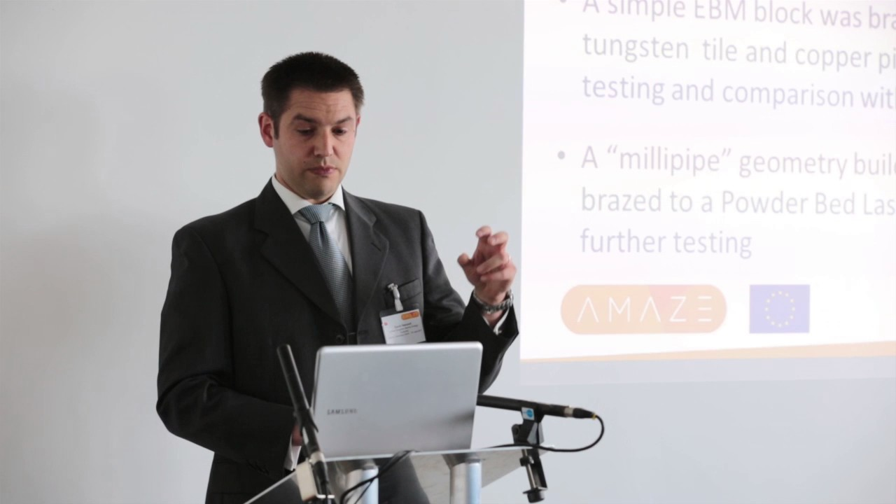 AMAZE Technology Forum: Additive manufacture for fusion power plant components