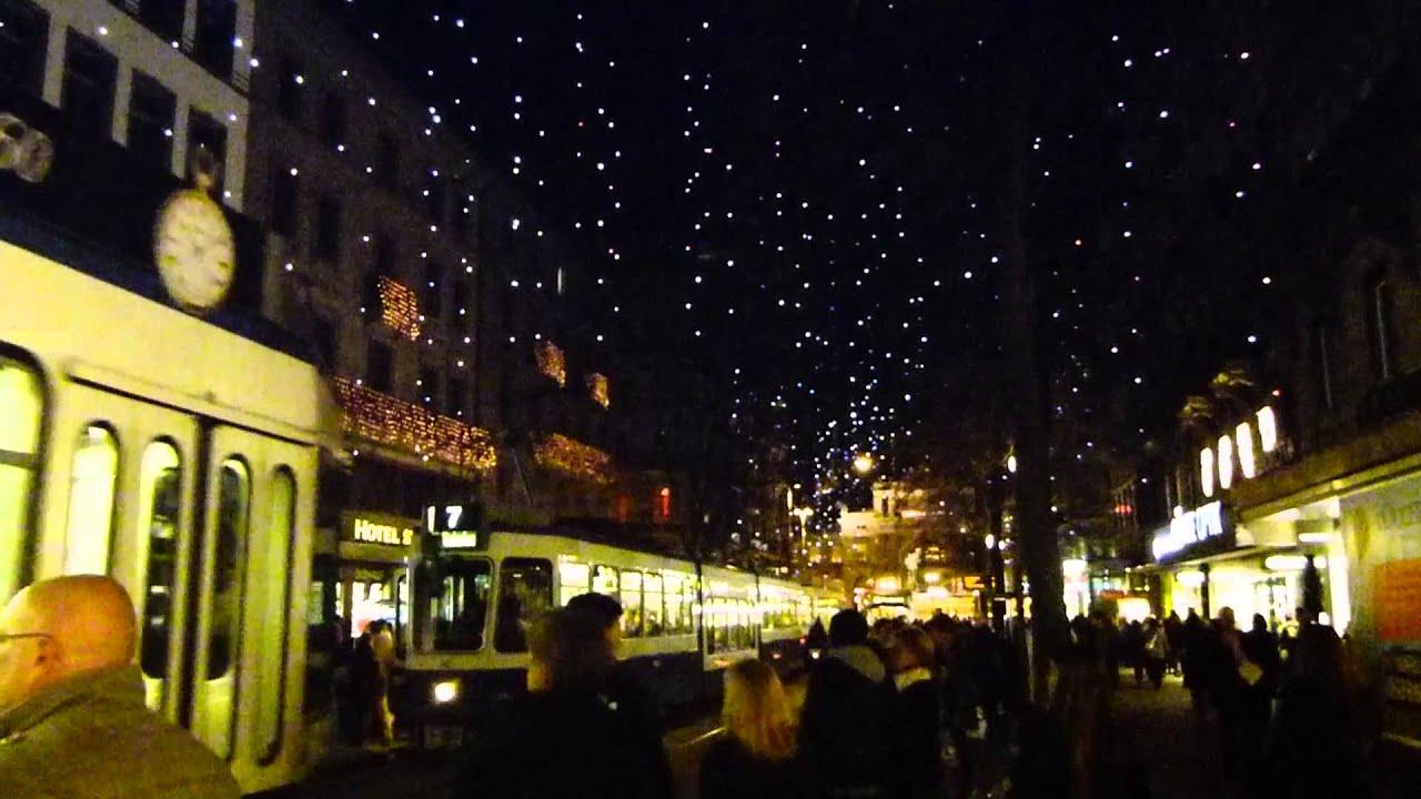 Zurich Christmas Lights 2012 Youtube