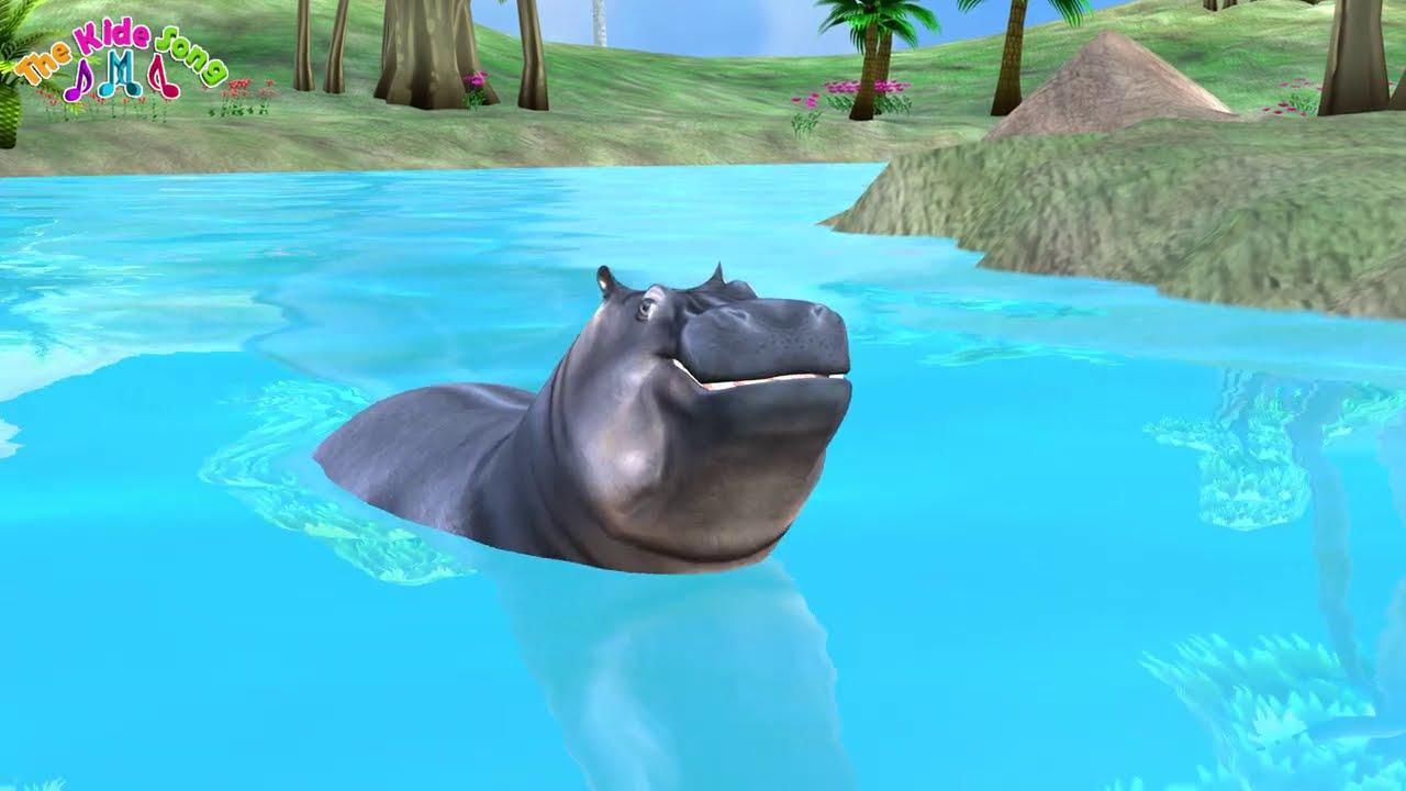 เพลงฮิปโปตัวใหญ่ ๆ  Hippo song  - เพลงเด็ก The Kids Song