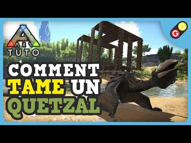 ARK Tuto - Comment tame un Quetzal seul [FR]