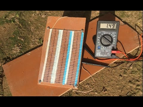 Free Energy 100 How To Make 2w Solar Cell From 100