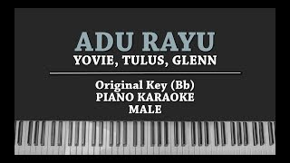Gambar cover Adu Rayu (MALE KARAOKE PIANO COVER) Yovie, Tulus & Glenn