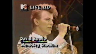 David Bowie - TVC15  (MTV - Live Aid 7/13/1985)