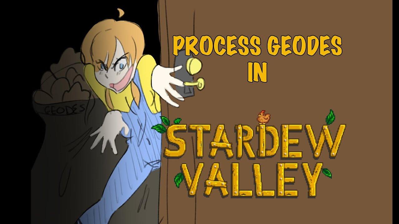 Stardew Valley Animation - Processing Geodes