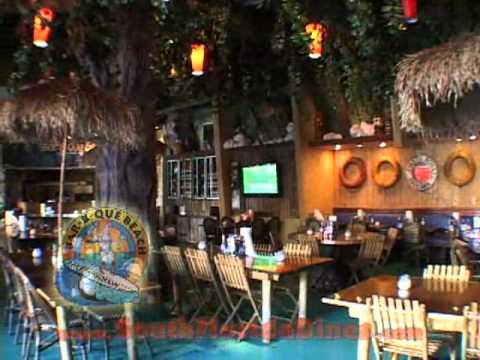Bar-B-Que Beach Bar & Restaurant In South Beach