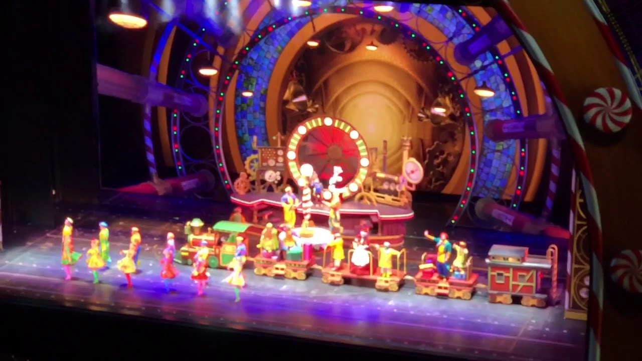 "Santa, Ben, Patrick and the North Pole Toy Factory"" The Radio City Rockettes Christmas Spectacular"