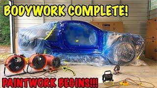 rebuilding a wrecked 2018 camaro