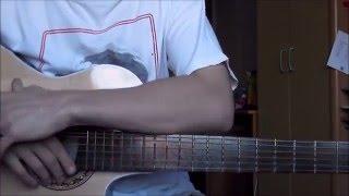 Как играть на гитаре,Разбор на гитаре Виктор Цой, Пачка сигарет , аккорды