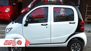 Mục sở thị ô tô điện giá rẻ cấm lưu thông | VTC