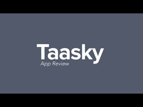Best Task Manager For Mac Taasky App Review