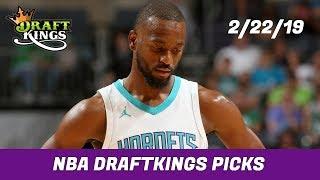 2/22/19 NBA DraftKings Picks - Money Six