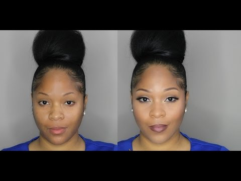 Flawless Full Face Drugstore Makeup Tutorial | Maybelline Fit Me Matte Foundation