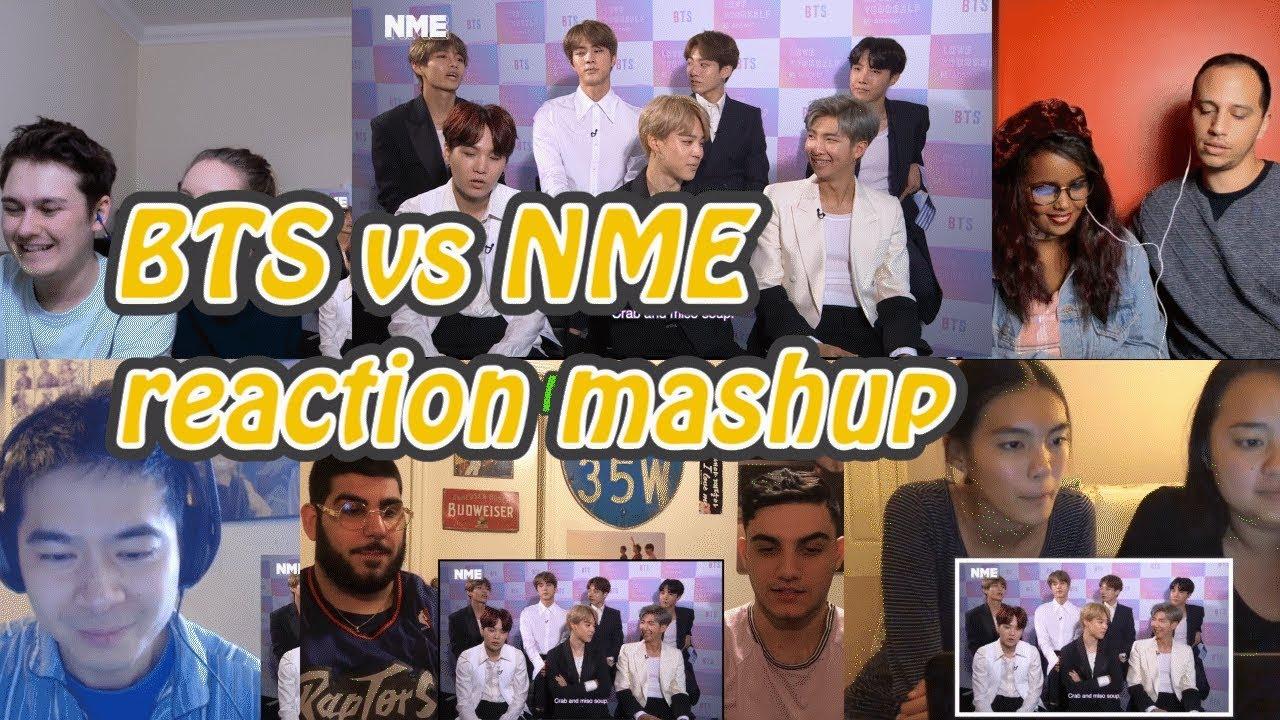 [BTS] BTS vs. NME : Get to know the K-Pop sensation|reaction mashup - YouTube