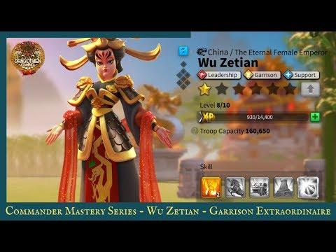 Commander Mastery Series : Wu Zetian - Garrison Extraordinaire