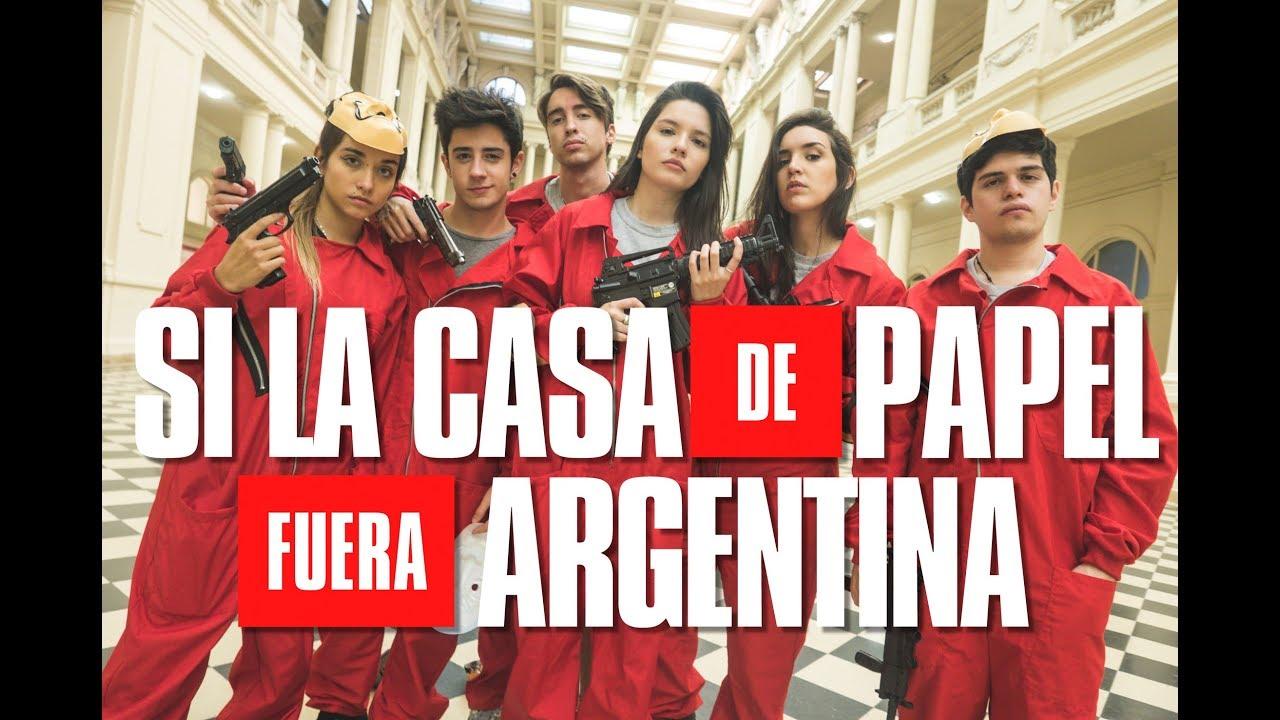 SI LA CASA DE PAPEL FUERA ARGENTINA