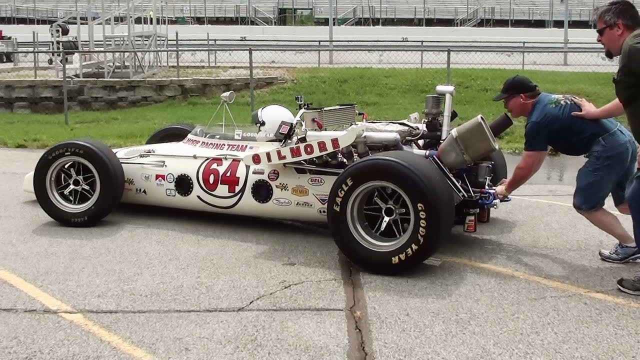 Vintage Indy Car Action - Gateway Motorsports Park - Oval Track ...