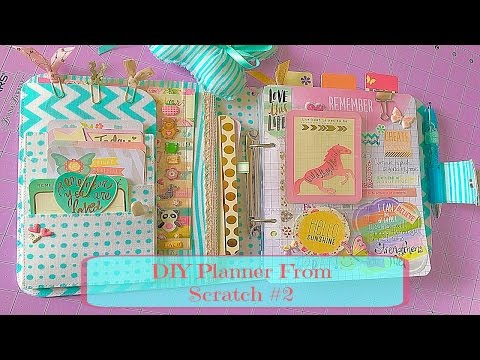 DIY Fabric Planner From Scratch #2
