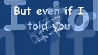Everytime I See You - Fra Lippo Lippi (with Lyrics)