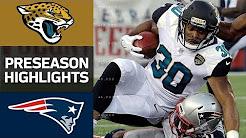 Jaguars vs. Patriots | NFL Preseason Week 1 Game Highlights