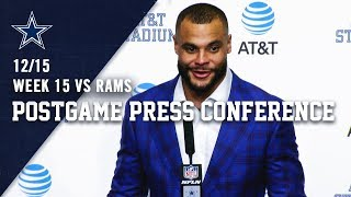 Dak Prescott on Coin Toss Error & Dominant Win vs. Rams | Dallas Cowboys