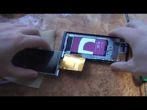 Разборка китайского телефона Nokia N9. Замена батареи в Nokia N9 (копия).