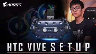 How to Set Up the HTC VIVE Wireless Adapter