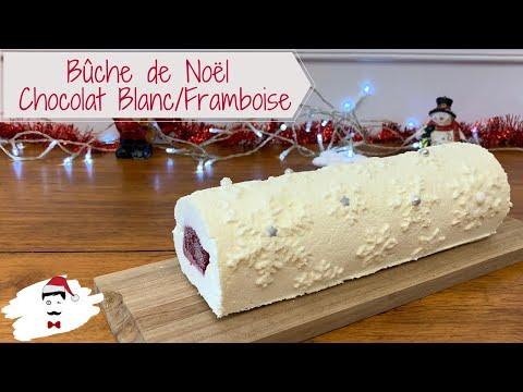 bÛche-de-noËl-chocolat-blanc,-framboise-🌲
