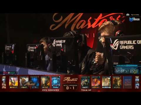 Manila Master | EG vs NP - Game 2 - Caster : Mybone