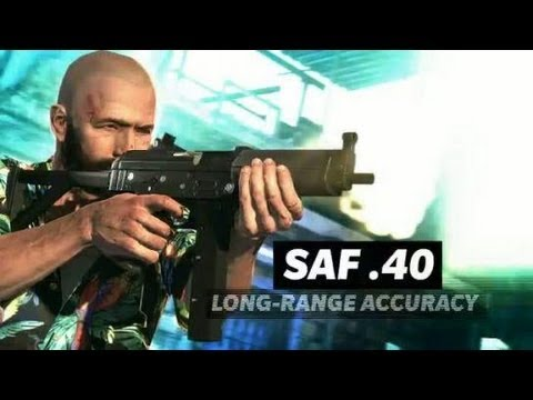 Max Payne 3 : Weapons Trailer