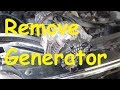 2007 JEEP GRAND CHEROKEE How to Remove Generator