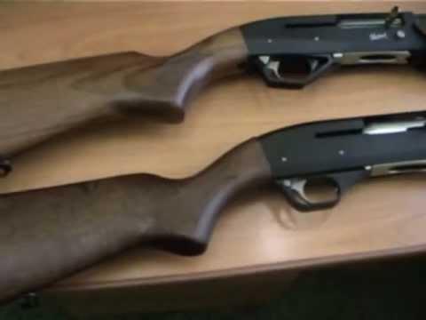 Shotguns  Rifle semi auto shotgun MP-155