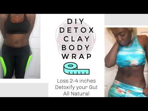 DIY Detox Clay Body Wrap | Waist Slimmer | Bentonite clay