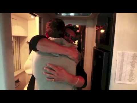 Shawn's dad surprised him