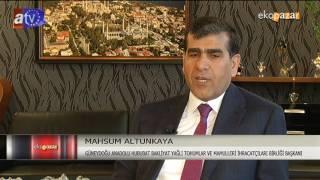 MAHSUM ALTUNKAYA GAZİANTEP ATV EKOPAZAR 14 MAYIS 2017