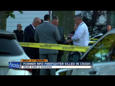 Retired MFD firefighter killed in crash...