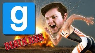 GMod Death Run Funny Moments - HOUDINI ESCAPES! (Garry's Mod)