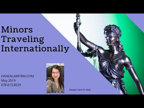 Minors Traveling Internationally