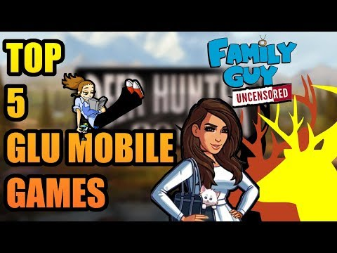 Top5 Glu Mobile Games [FREE IOS & ANDROID]