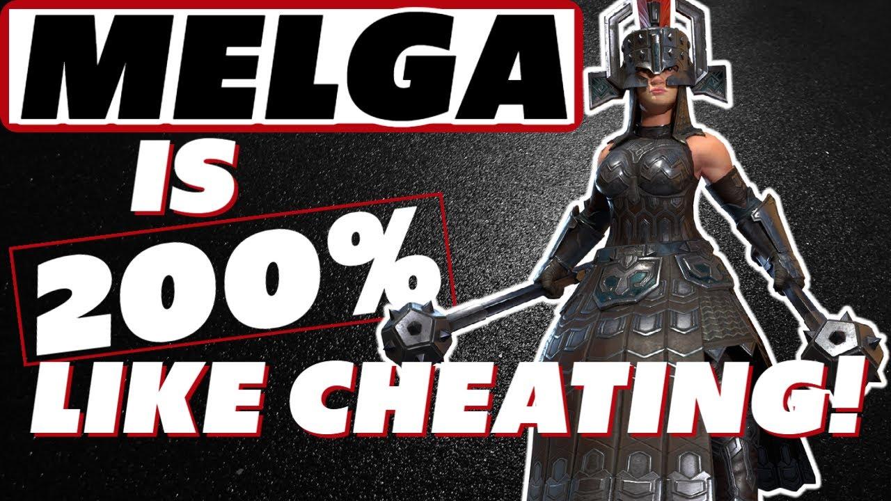 Download Melga is ten billion percent like cheating | Melga BUILD! Raid Shadow Legends