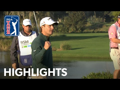Kevin Kisner's Winning Highlights From The RSM Classic 2015