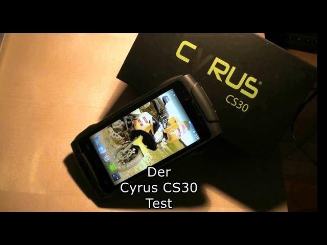 Cyrus CS 30 Test Einleitung (mit deutschen Untertitlen)