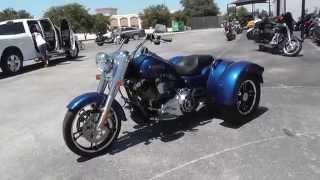 855922 - 2015 Harley-Davidson Freewheeler Trike FLRT - Used Trike For Sale