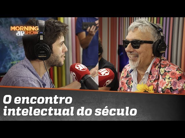 O encontro intelectual do século: Caio Coppolla e Falcão